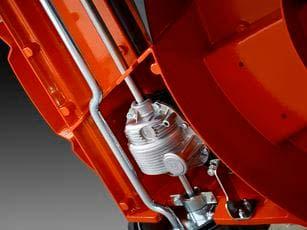 Cortacésped Husqvarna LC 551VBP - Caja de transmisión de aluminio