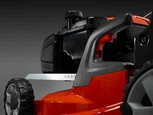 Cortacésped Husqvarna LC 247S ABS - Altura de corte fácilmente ajustable