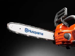 Motosierra a batería Husqvarna 340i - Alta velocidad de cadena