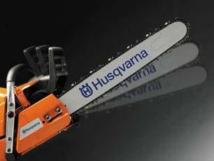 Motosierra a batería Husqvarna 340i - Freno de cadena se activa por inercia