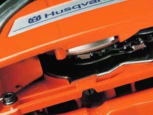 Motosierra a gasolina Husqvarna 372 XP - Bomba de aceite regulable