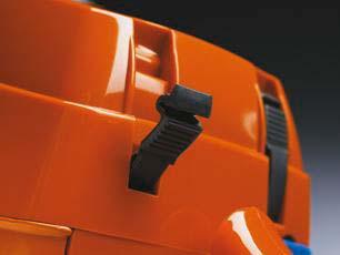 Motosierra a gasolina Husqvarna 372 XP - Cierre rápido del filtro de aire