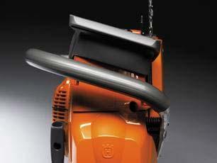Motosierra a gasolina Husqvarna 372 XP - Sujección ergonómica