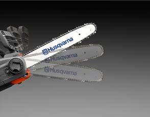 Motosierra a batería Husqvarna 540iXP - Freno de cadena se activa por inercia