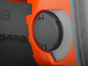 Motosierra a batería Husqvarna 540iXP - Tapa de apertura superior