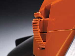 Motosierra a gasolina Husqvarna 550 XP Mark II - Tapa de cilindro con cierre rápido