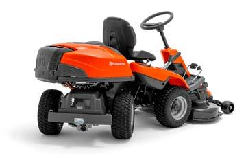 Rider Cortacésped Husqvarna P525D - Tracción a las 4 ruedas (AWD)