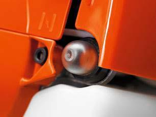 Soplador a gasolina Husqvarna 125BVX - Bomba de combustible