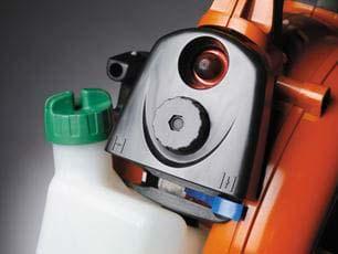 Soplador a gasolina Husqvarna 125BVX - Controles intuitivos