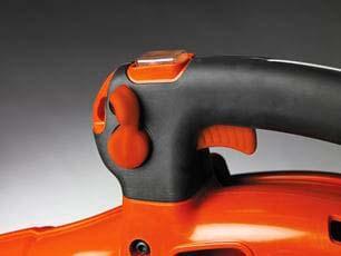 Soplador a gasolina Husqvarna 125BVX - Manillar cómodo