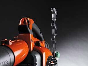 Soplador a gasolina Husqvarna 125BVX - Smart Start