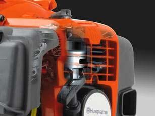 Soplador a gasolina Husqvarna 350BT - Motor X-Torq