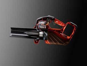 Soplador a batería Husqvarna 530iBX - Diseño de ventilador de motor avanzado