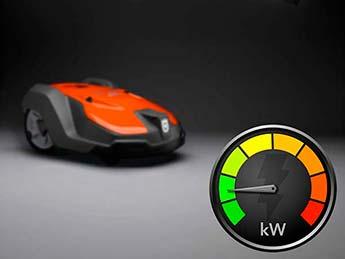 Automower 550 EPOS - Bajo consumo de energía